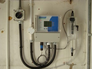 Chlorine Analyser in Distribution Monitoring Application.